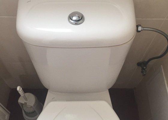 Oprava protékajího záchodu