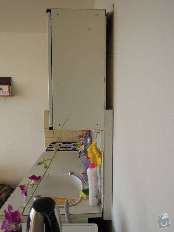 Montáž kuchyňské linky: DSCN6999