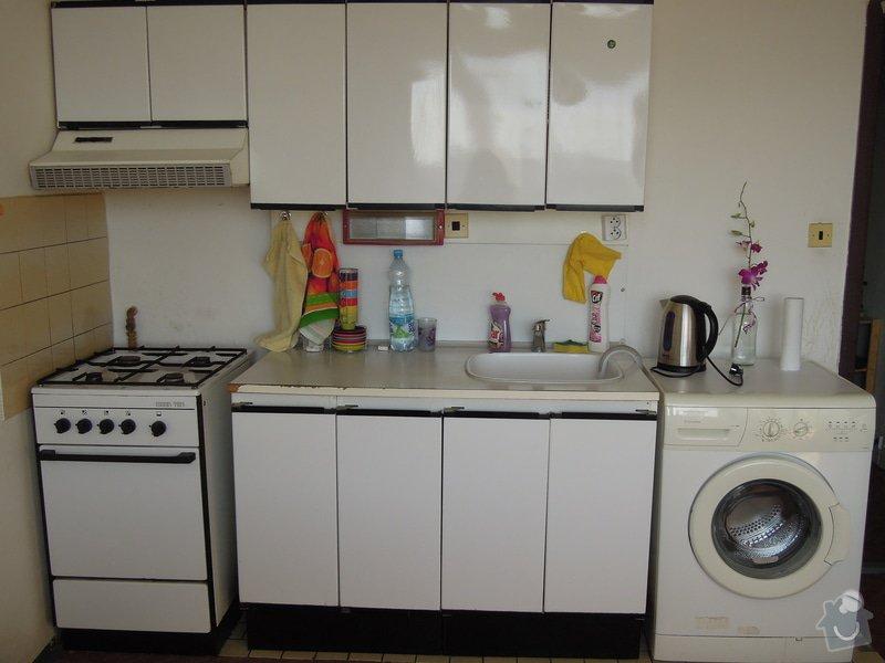 Montáž kuchyňské linky: DSCN6998