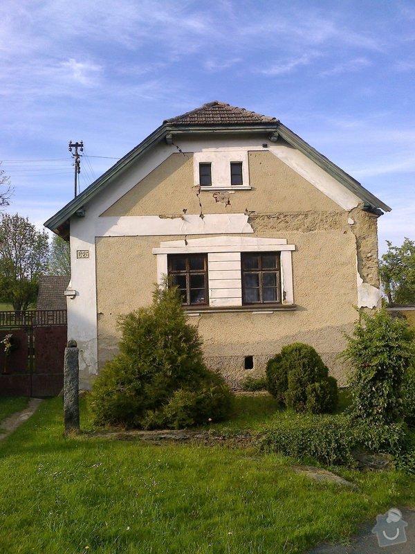 Rekonstrukce staré chalupy - tzv. vejminek + střecha na hlavní obytné budově + oplocení: Fotografie0560