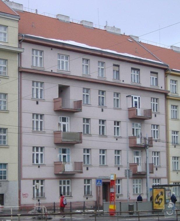 Nátěr fasády domu z plošiny: fasada_01-2007_orez