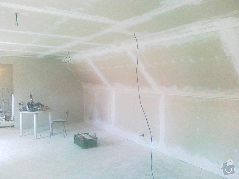 Finální tmelení a broušení sádrokartonu: 130520152053