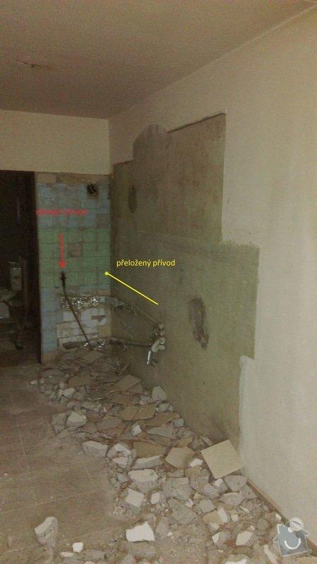 Přeložení plynové přípojky pro sporák v panelákovém bytě: prelozka_plynu