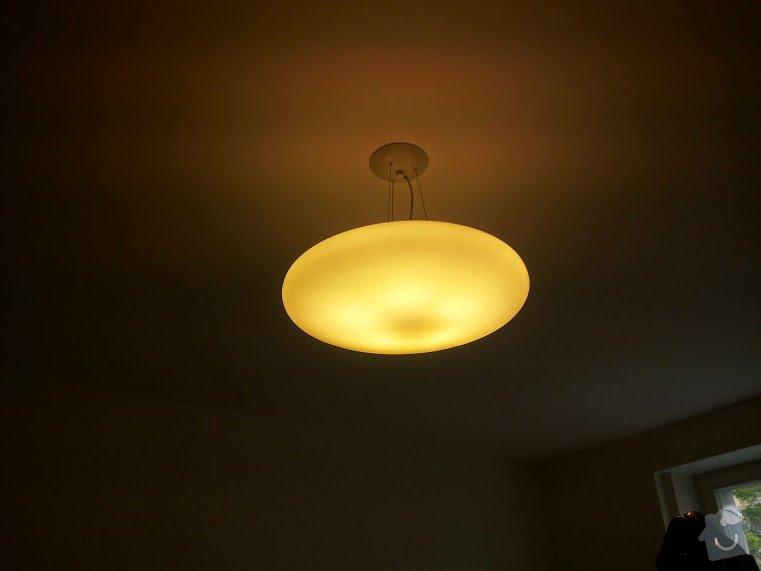 Instalace stropních světel: 20150430_092928