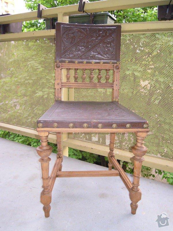 Oprava starožitné židle: DSCN5286