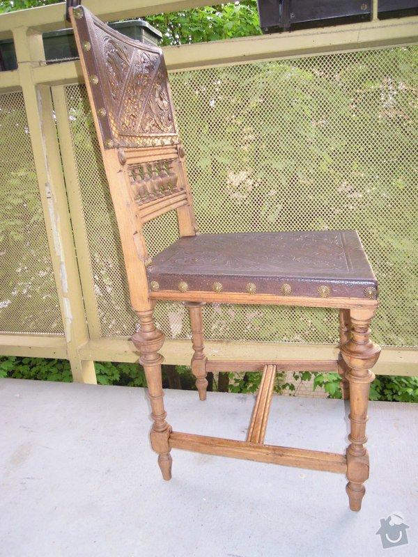 Oprava starožitné židle: DSCN5287