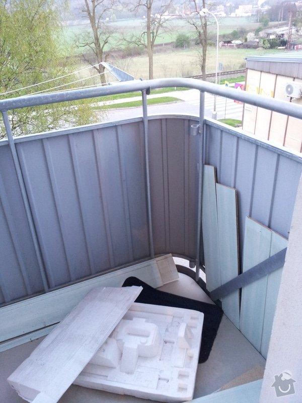 Zaskívání balkonů a lodžií: balkon1