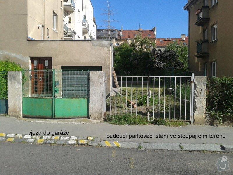 Realizace parkovacího stání a oprava plotu: 20150518_083757
