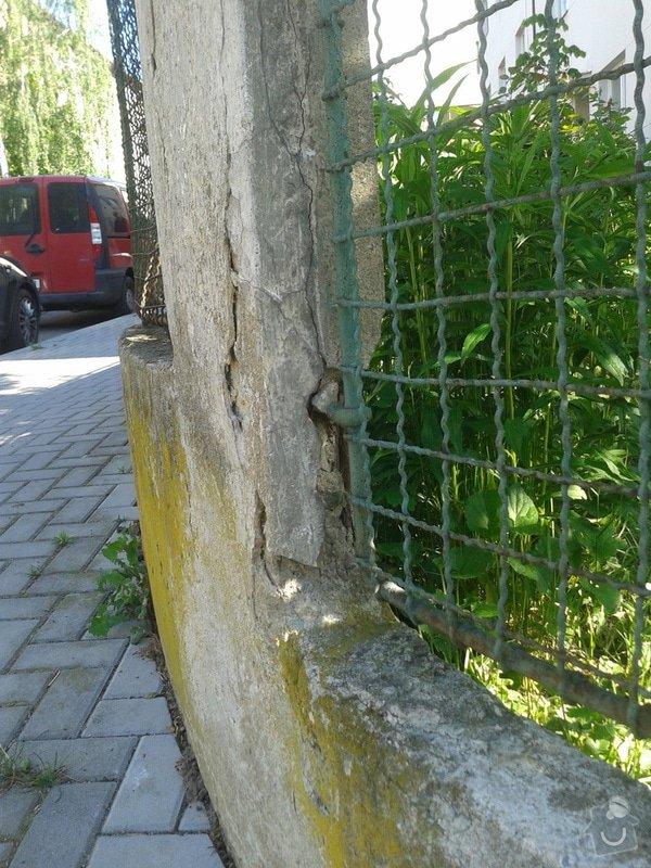 Realizace parkovacího stání a oprava plotu: 20150518_083855