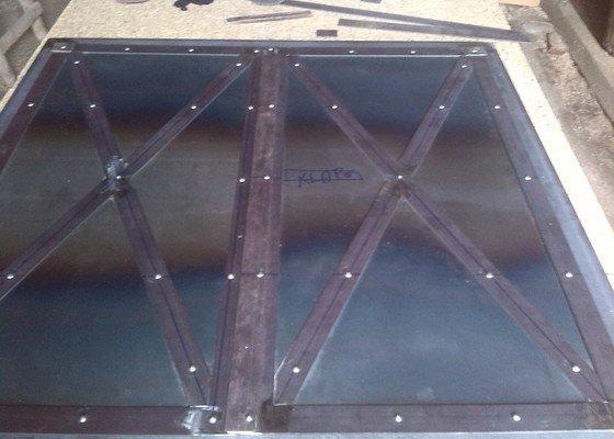Výroba komínových vrat.
