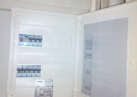 Elektroinstalace v cihlovém bytě 2+1