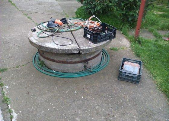 Oprava skruže studně