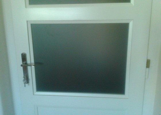 2 interiérové kazetové dveře