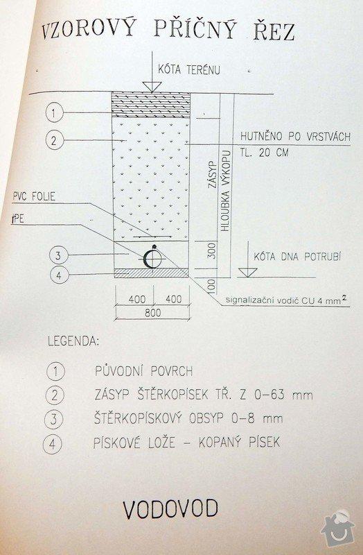 Stavba vodovodní a kanalizační přípojky: DSCN2926