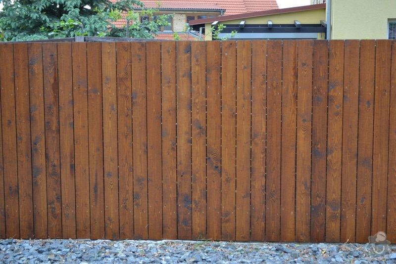 Výměna plotu z pletiva za dřevěné výplně: DSC_0954