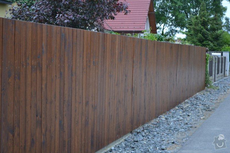 Výměna plotu z pletiva za dřevěné výplně: DSC_0955