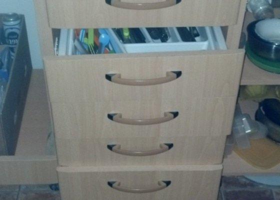 Vyrobení 5 korpusů šuplíků do šuplíkové skříňky v kuchyňské lince