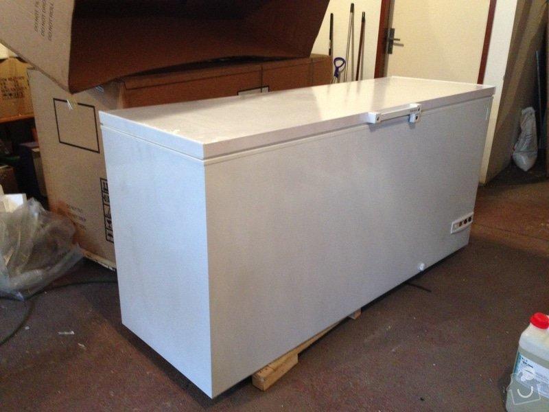 Polep boxu na suchý led: 1