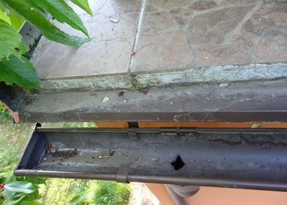 Oprava zatékání terasy