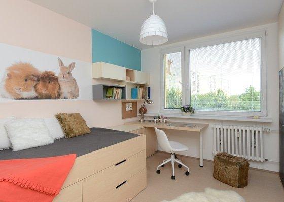 Návrh dětského pokoje v panelovém domě