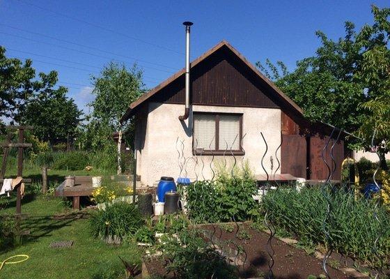 Pristaveni pristresku ke stavajicimu zahradnimu domku