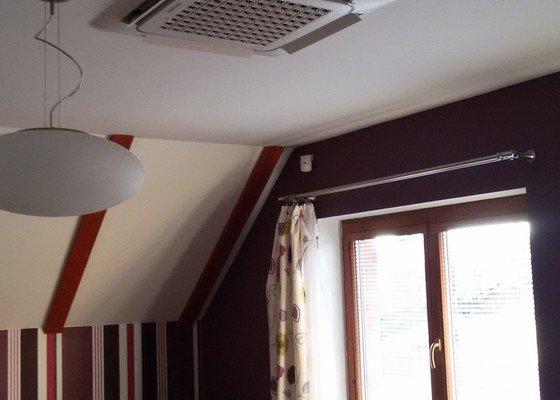 Zhotovení klimatizace Samsung pro podkroví domu
