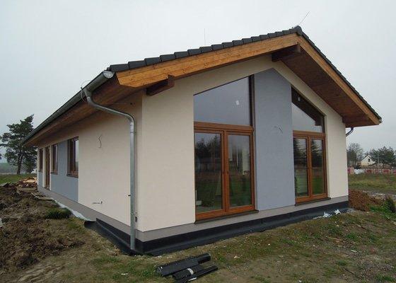 Stavba RD  - dřevostavba