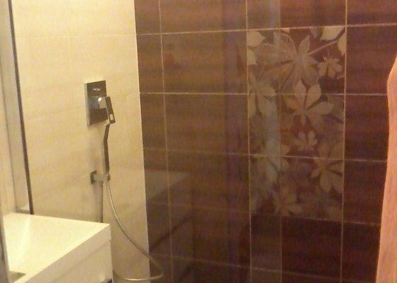 Koupelna Zednické a obkladačské práce
