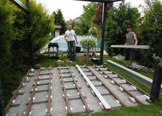 Dodání a montáž WPC terasy