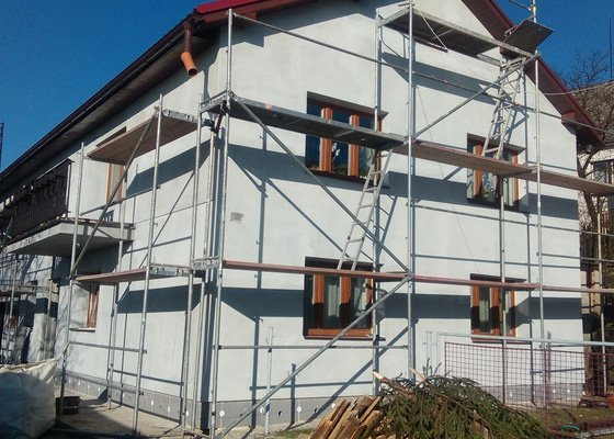 Zhotovení zateplovací fasády