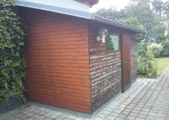 Natěračské práce - zahradní domek