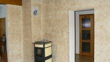 Dekorace stěny v obývacím pokoji