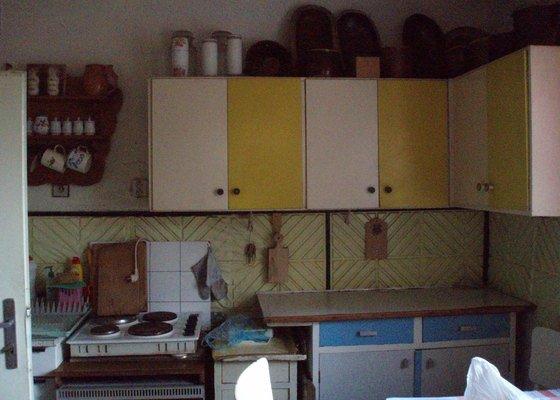 Rekonstrukce koupelny a kuchyně
