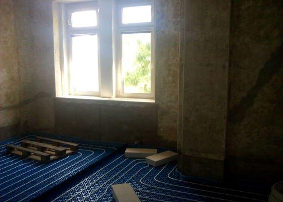 Anhydritovou podlahu 47m2