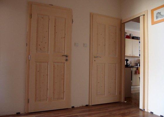 Výroba masivních interiérových dveří
