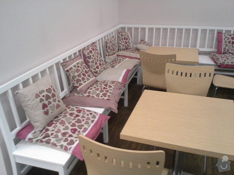 Výrobu nábytku pro cukrárnu: 20150630_205838