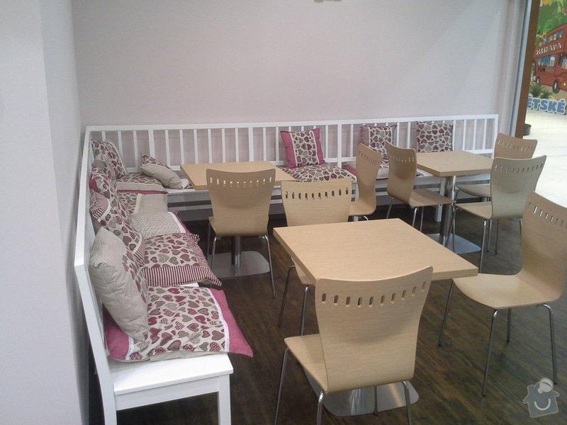 Výrobu nábytku pro cukrárnu: 20150630_205854