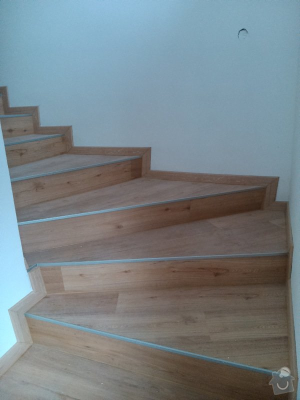 Rekonstrukce bytu, vinylová podlaha - Kuřim: Kurim16