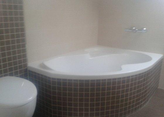 Pokládka dlažby a obklad koupelny