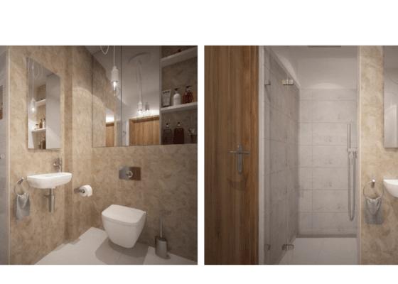 Rekonstrukce sprchového koutu