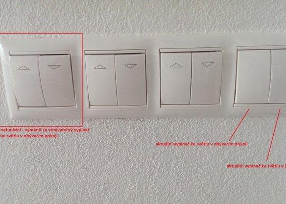 Úprava elektroinstalace pro montáž designových světel a samotná montáž světel