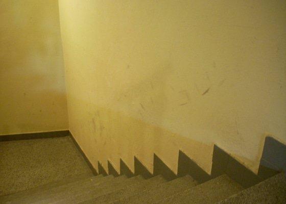 Výmalba schodiště SBD