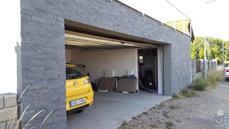 25m2 bridlicový obdklad garaze: 20150710_185200