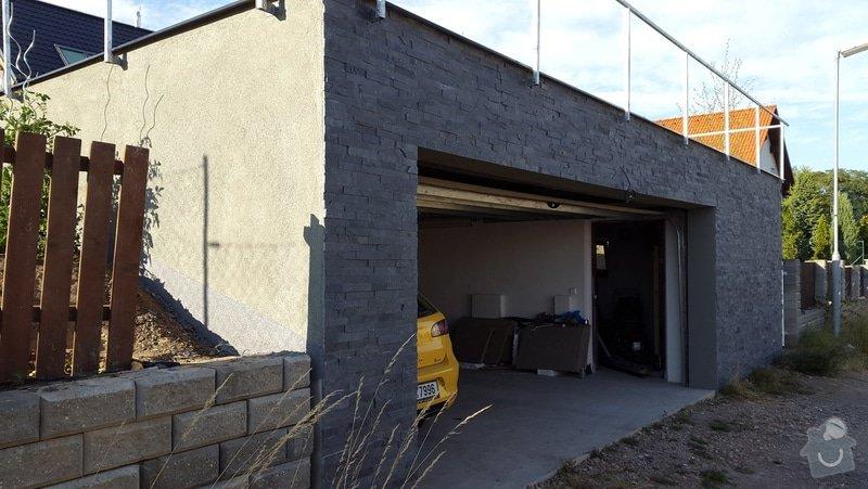25m2 bridlicový obdklad garaze: 20150710_185206