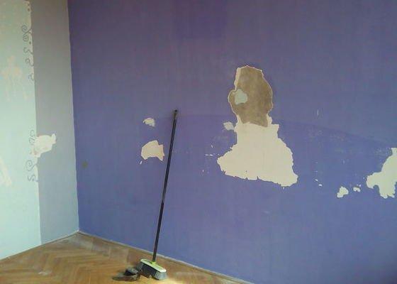 Malířské práce, celý byt 3+1