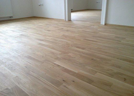 Pokládka dřevěné podlahy