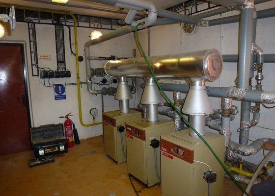 Renovace plynové kotelny bytový dům