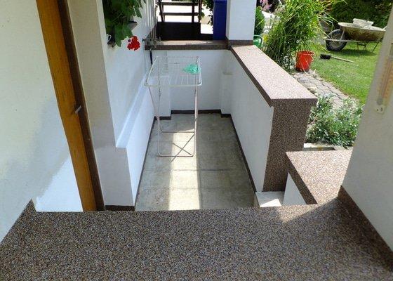 RD sokl, dlažby, balkon