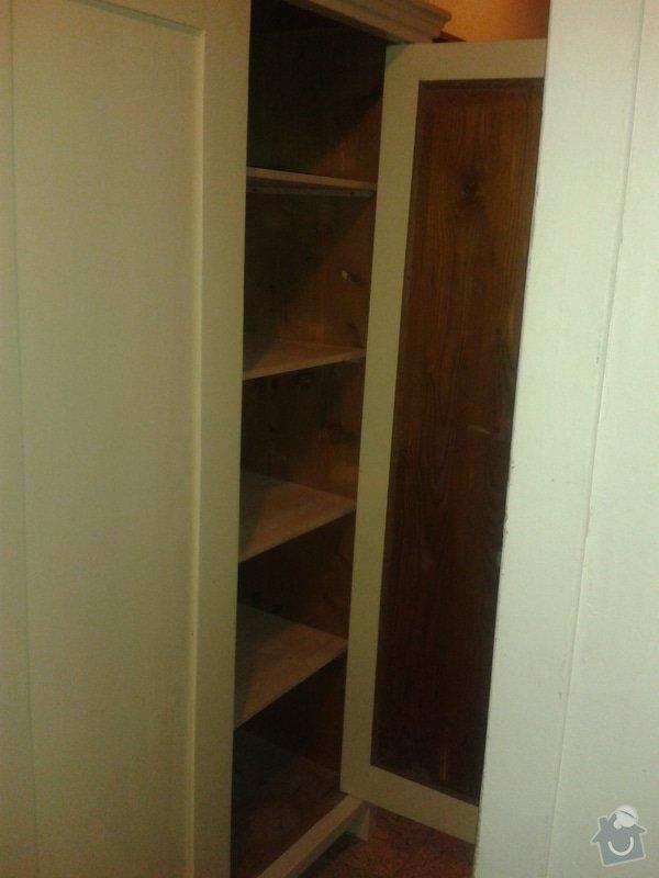 Renovace dvou skříní: 2