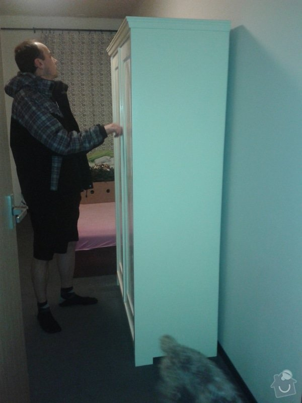 Renovace dvou skříní: 3